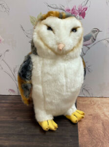 """Faithful Friends Collectibles Barn Owl 12"""" Soft Plush Toy"""
