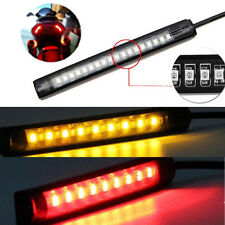 Universal Flexible 18 LED Motorcycle ATV Tail Brake Stop Turn Signal Strip Light