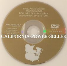 2003 2004 2005 NISSAN MURANO INFINITI NAVIGATION DVD VERSION 6.7 OEM