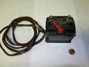 Lionel Scout 25W Type 1011 Transformer, needs rewired