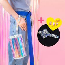 Women Laser PVC Holographic Hologram Clutch Purse Girl Makeup Bag Party Handbag