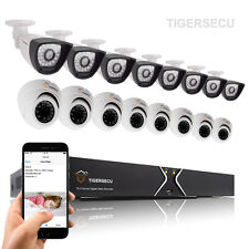 16CH Surveillance CCTV DVR Security System Full D1 800TVL Camera IR Night Vision