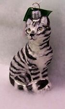 Slavic Treasures Short Hair Cat (Gray & White Stripes)