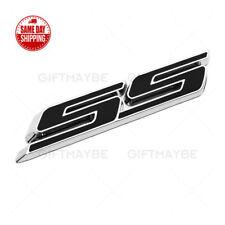 For Camaro SS 3D Letter Fender Grille Bumper Lid Logo Emblem Badge ZL1 Z28 Black
