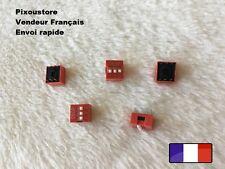Lot de 5 micro interrupteur DIP 3 positions ON/OFF neuf DS2 Switch 3-52