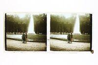 Francia Parc Da Versailles Foto n46L3-17 Placca Lente Stereo Vintage