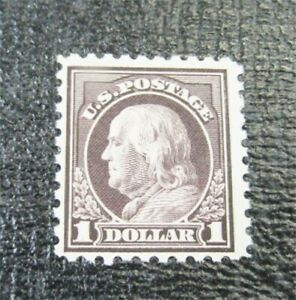 nystamps US Stamp # 478 Mint OG H $625 Franklin   J22x376