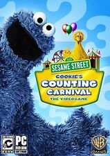 Sesame Street Cookies Counting Carnival The Videogame PC Game NEW factory sealed