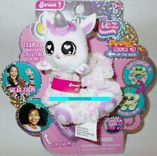 SCRUNCHMIEZ Scrunch Miez GLIMMER Plush Unicorn HAIR SCRUNCHIE Backpack Clip NEW