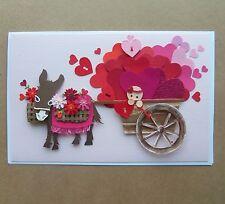 ROC Paper Scissors: Handcrafted Romance Card - Valentine 'Burrito'