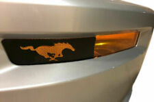 Vinyl Front Side Marker Decal Wrap Kit Pony for 05-09 Ford Mustang GT
