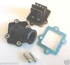 Inlet manifold + Membrane + Gasket = Set APRILIA SR50 + www - induction + valve