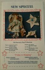 "Sew Special Oh Heavenly Days Collection ""Friday is Shopping"" Craft Pattern UNCUT"