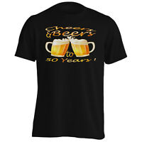 Cheers and beers to 50 years Men's T-Shirt/Tank Top u245m