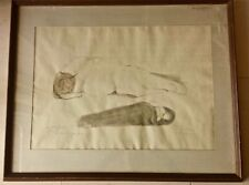 ORIGINAL signed Jose Luis CUEVAS  INK & WASH Drawing from the early 1960s
