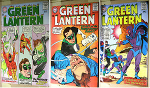 Green Lantern 35, 36, 37