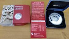 2012 Lunar Year of the Dragon 5oz $8 Silver Proof Coin Perth Mint