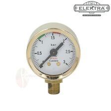 Elektra Microcasa Boiler Pressure Gold Gauge Ø 42mm Replacement parts