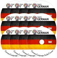Learn to speak GERMAN - Complete Language Training Course on 12 AUDIO CDs
