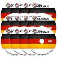 Learn to speak GERMAN Complete Language Training Audio Course on 12 AUDIO CD