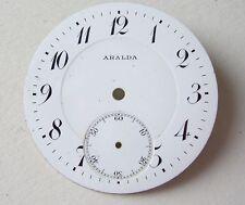 Aralda Enamel Pocket Watch Dial Esfera Cadran Zifferblatt 43mm Normana Watch Co