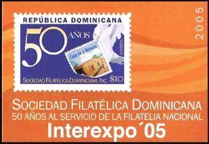 Mint S/S  Philatelic Society 2005 Dominican Republic    avdpz