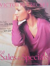 VERONICA VAREKOVA  Fall 2001 Victoria's Secret Catalog