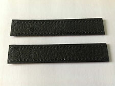 New - Strap Correa HUBLOT 12mm Black Leather Piel Negra 100% Original Ref. 13966