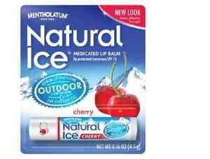 Naturel Ice Médicamenteux Lèvres Protection SPF 15 Cerise 12 Par Kgs