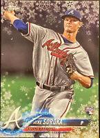 🔥 2018 Mike Soroka RC Topps Update Holiday METALLIC Snowflake Atlanta Braves