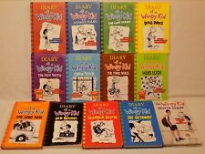 13 Diary of a Wimpy Kid Hardback Paperback Book LOT Jeff Kinney Set