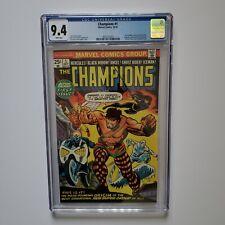 Champions #1 CGC 9.4 NM WP Origin Marvel Comics Ghost Rider Hercules Key Hot