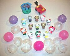 Squinkies & Bubbles ~ Hello Kitty 13 Squinkies, 10 Bubbles, Wagon & Tree