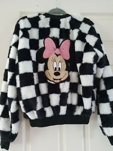 Womens Hype Disney Fluffy Jacket Size S