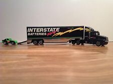 """HO """"Racing Champion - Interstate Batteries Racing"""" Tractor Trailer W Race Car"""