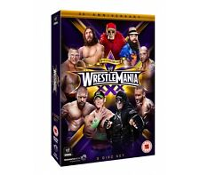 Official WWE Wrestlemania 30 XXX ( 3 Disc DVD Set ) 2014