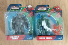 Marvel ultimate Spider-Man sinister 6 rhino & green goblin