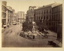 Photo Albuminé Napoli Naples Italie Vers 1870/80 # 9