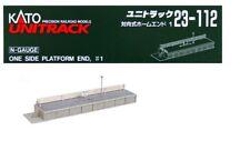 23-112 Batiment Kit Bout de Quai de gare KATO N 1/160