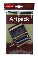 Derwent artpack-Canvas Lápiz & Dibujo Accesorios Funda Con Compartimentos