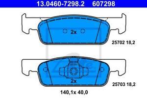 Kit Pastiglie+Dischi Freno ATE ANT. CLIO IV-TWINGO III-SMART453 422289+607298