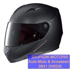 NOLAN N64 SPORT 13 Flat Black + Visiera Dark Scura Omaggio Casco Integrale