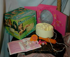 HTF 1971 Kenner Easy Care Manicure Set &Box Easy Curl Series WORKS Fun Xmas Gift
