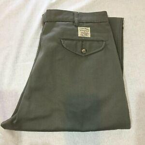 Farah Men's Non Wrinkle Pants, Kahki, Size 87
