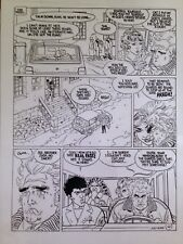 """MOEBIUS  """"MAD WOMAN OF SACRED HEART""""  A. Jodorowsky  page 62  ART TRANSPARENCY"""