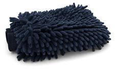 Mammoth Negro Onyx Chenille Microfibra Guante De Lavado-Ultra Suave Guante Lavado De Coches