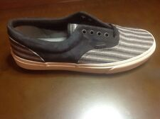 Vans, Italian Weave, Nubuck, Black, Era CA, Size 11 Mens Shoes