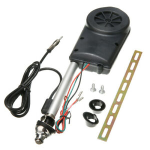Universal Electric Power Automatic Antenna Car SUV AM FM Radio Aerial 12V Power