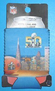 NFL Football Super Bowl 50 Can & Bottle Kolder Coozie SB50 NEW
