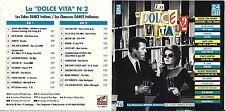 COFFRET 2 CD 24T LA DOLCE VITA DEN HARROW/P. LION/FINZY CONTINI/ZUCCHERO/GAZEBO